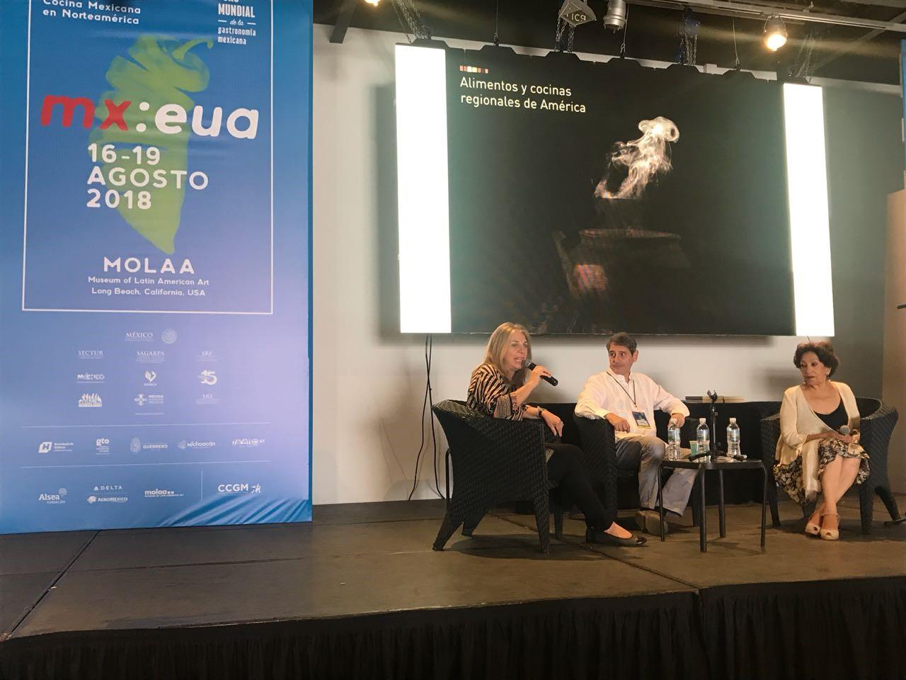 El INTA y la Fundación ArgenINTA presentes en el VI Foro Mundial de la Gastronomía Mexicana