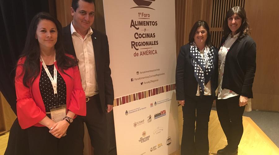 Mensajero – Mar del Plata participó del Primer Foro de Alimentos y Cocinas Regionales de América